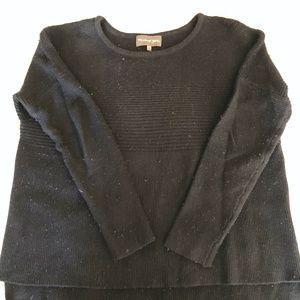 Michael Stars High-Lo Crew Sweater